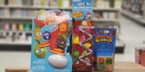 Crayola Silly Putty 5-Count Variety Pack Only $2.24 at Target