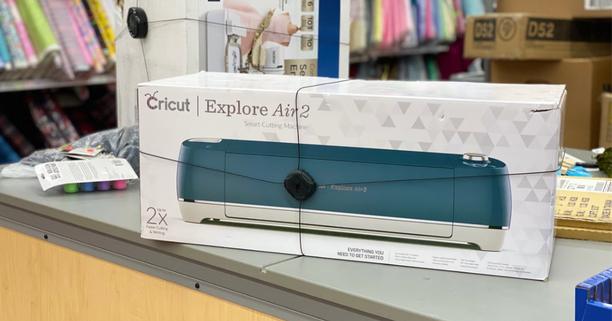 cricut explore air 2 in box