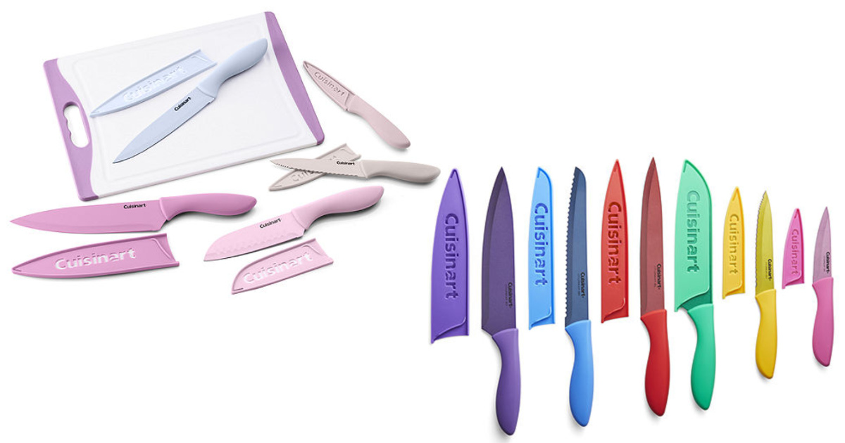 two cuisinart cutlery sets