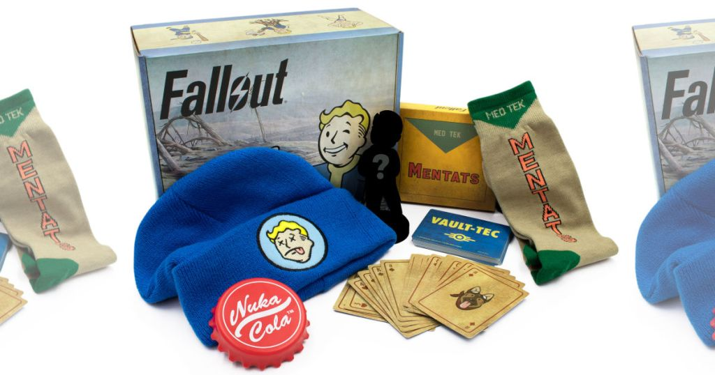 CultureFly Fallout Collectible Box with all items displayed