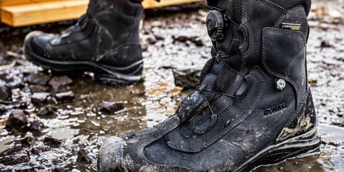Up to 65% Off Men's Workwear & Boots + Free Shipping at Home Depot | DeWalt, CAT & More