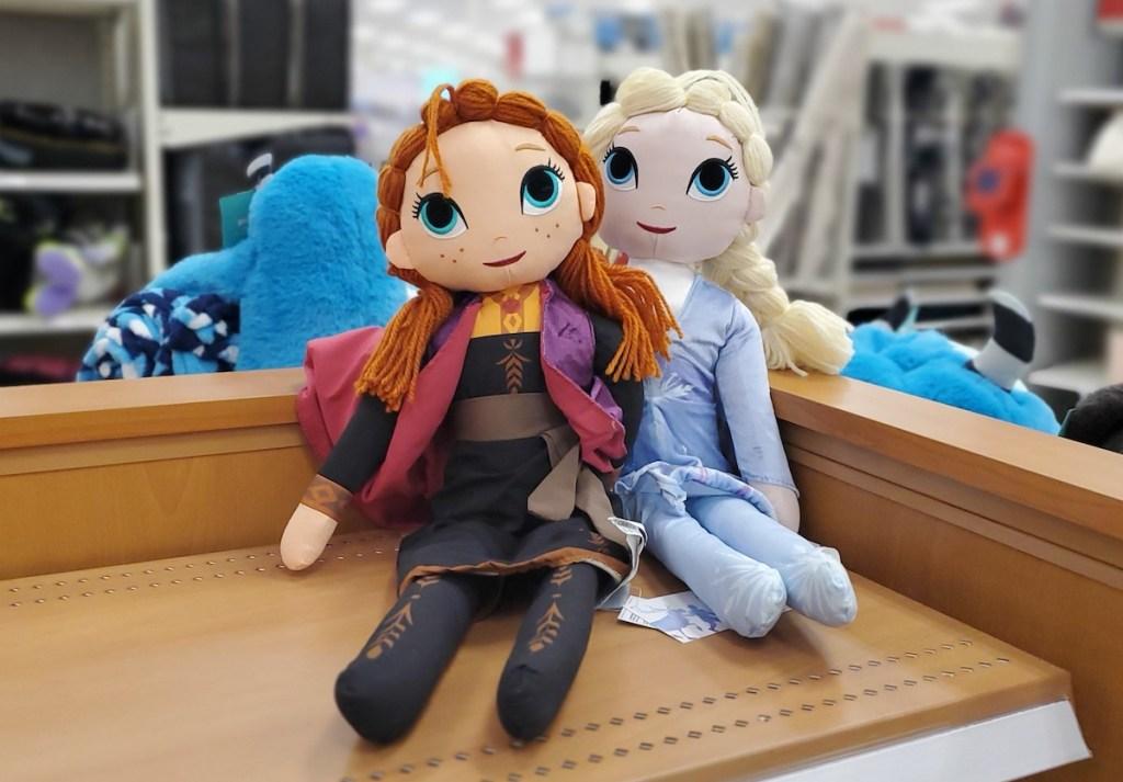 Disney Anna and Elsa Plush