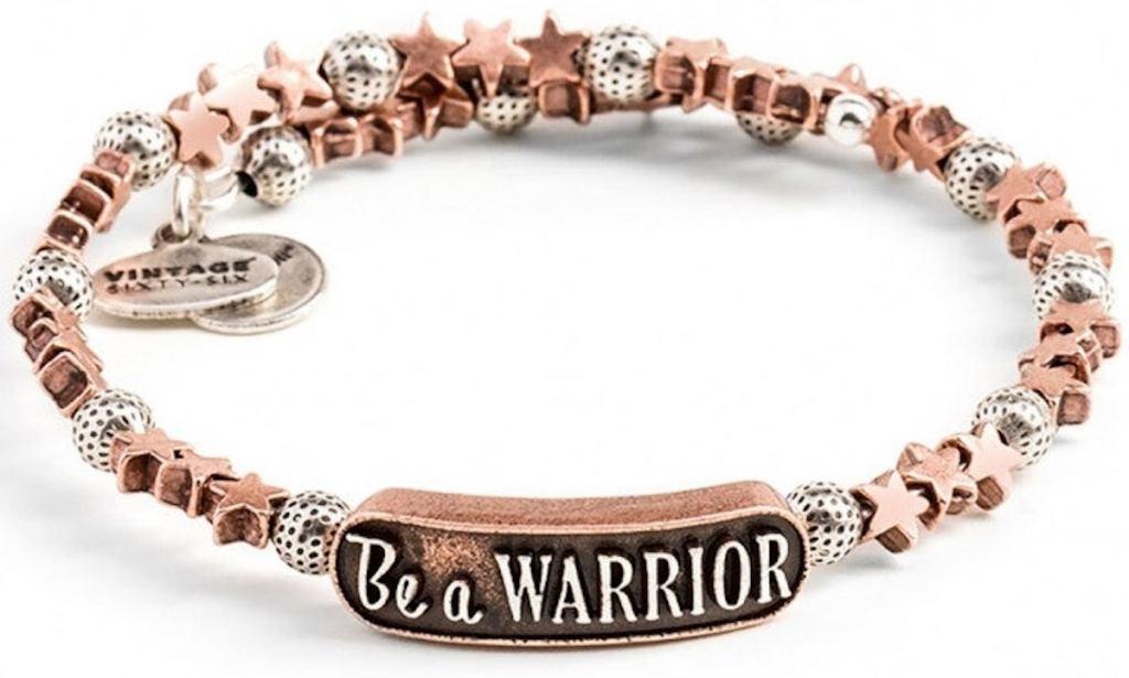 Alex and Ani Disney Be a Warrior Wrap bracelet