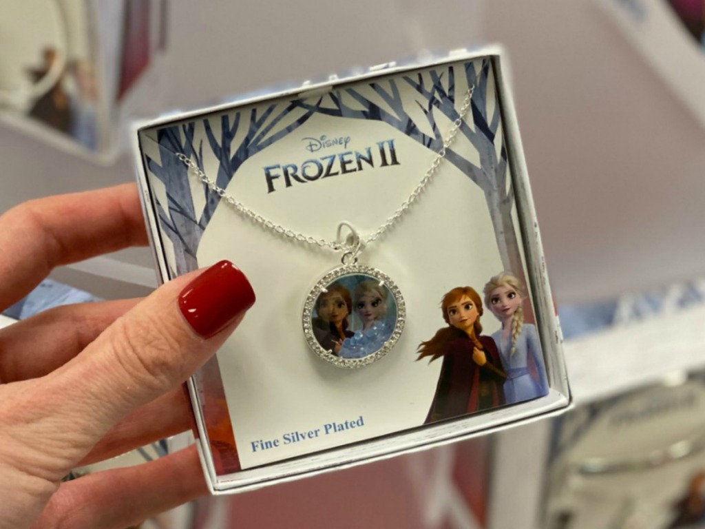 Disney Frozen themed necklace pendant in gift box