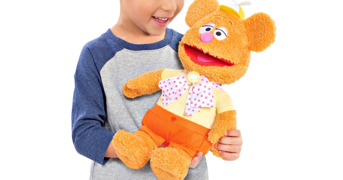 Disney Muppet Babies Wocka Wocka Feature Fozzie Plush