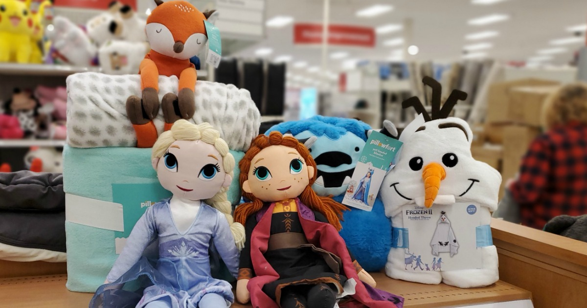 Disney and Pillowfort Items at Target