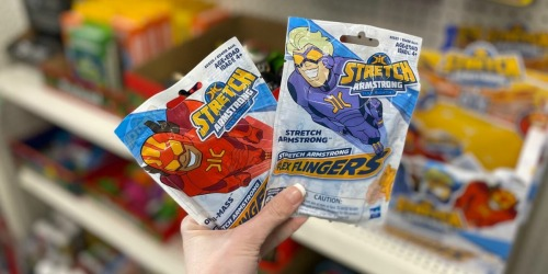 FUN Stretch Armstrong Flex Figures Only $1 at Dollar Tree