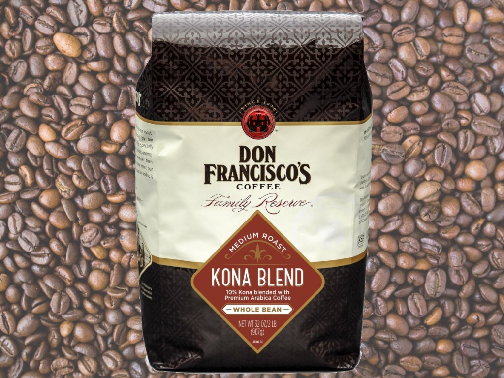 Don Francisco's Coffee in large bag