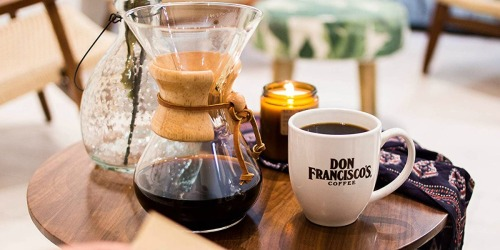 Don Francisco's Coffee 28oz Bag Only $8.95 Shipped on Amazon | Ground or Whole Bean
