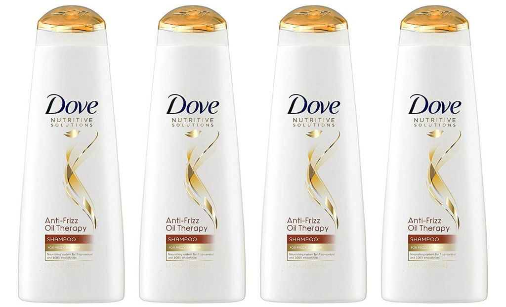 Dove Shampoo 4-pack
