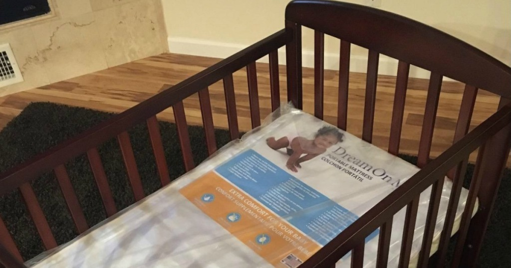 Dream on Me Portable Crib Mattress