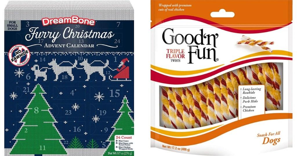Dreambone Advent Calendar and GoodnFun Dog Treats