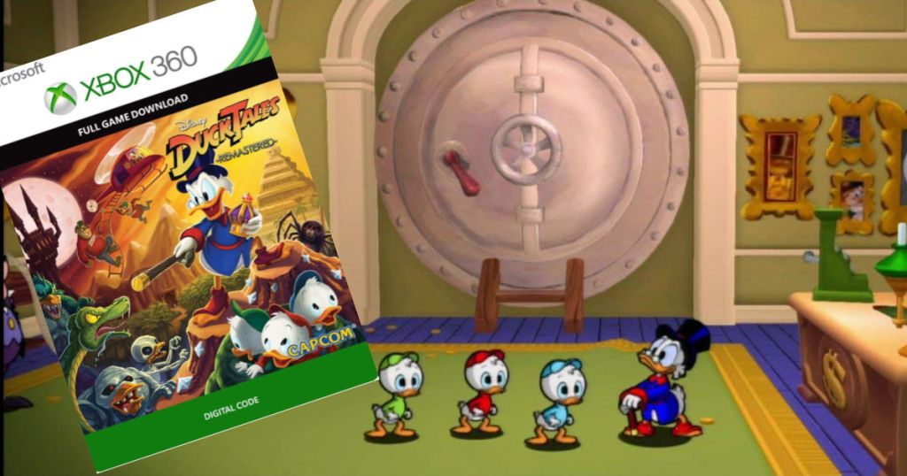 Ducktales Remastered Digital Game For Xbox 360 Xbox One Only