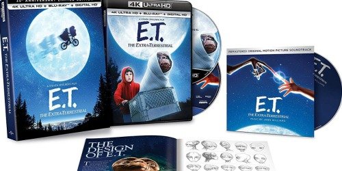 E.T. The Extra-Terrestrial 35th Anniversary 4K Ultra HD Set Only $9.99 at Amazon (Regularly $24)