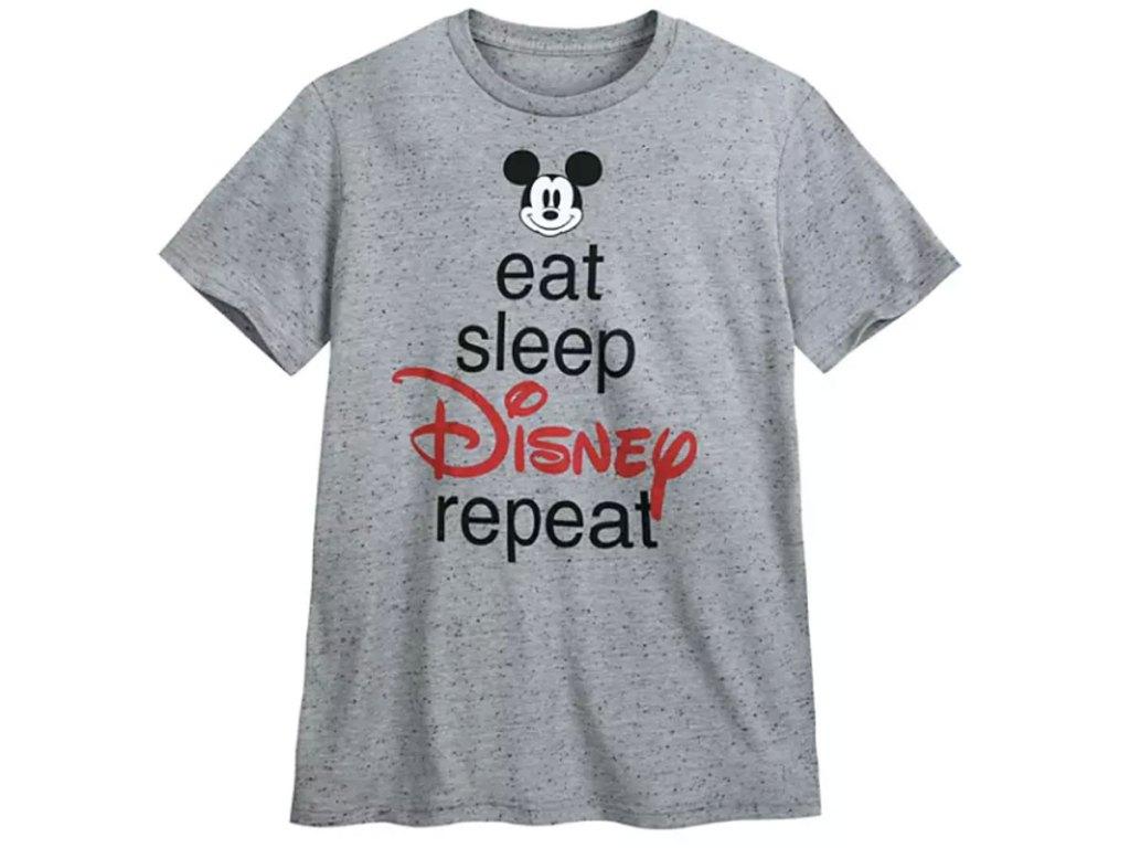 Mickey Mouse ''Eat Sleep Disney'' T-Shirt for Men