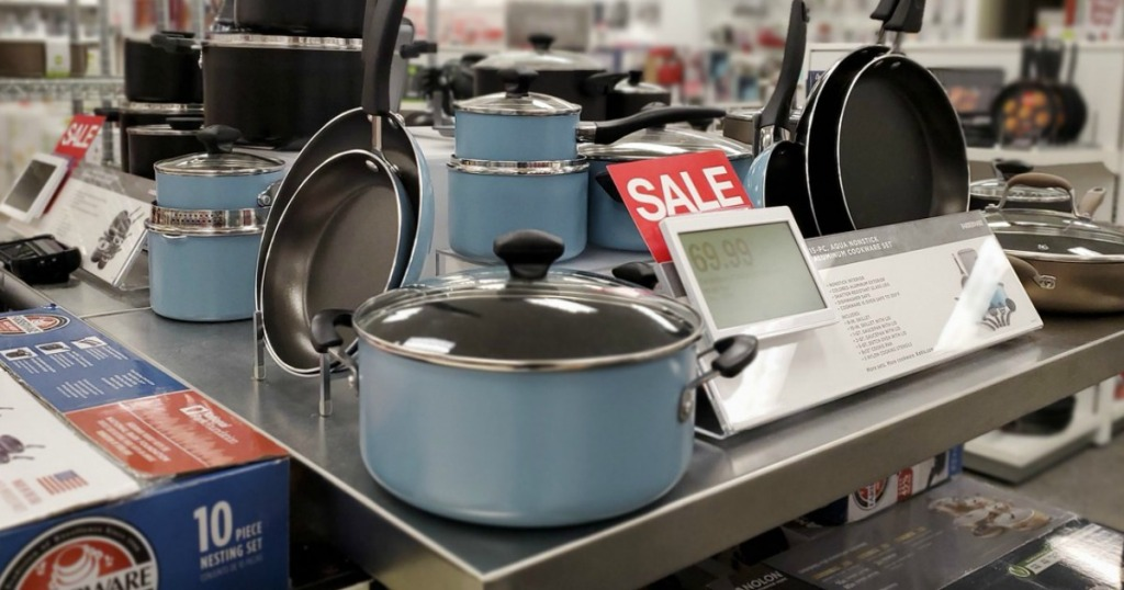 Farberware 15-Piece Cookware Set
