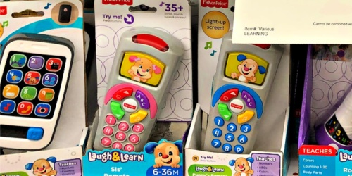 Fisher-Price Laugh & Learn Sis' Remote Only $5 (Regularly $15)