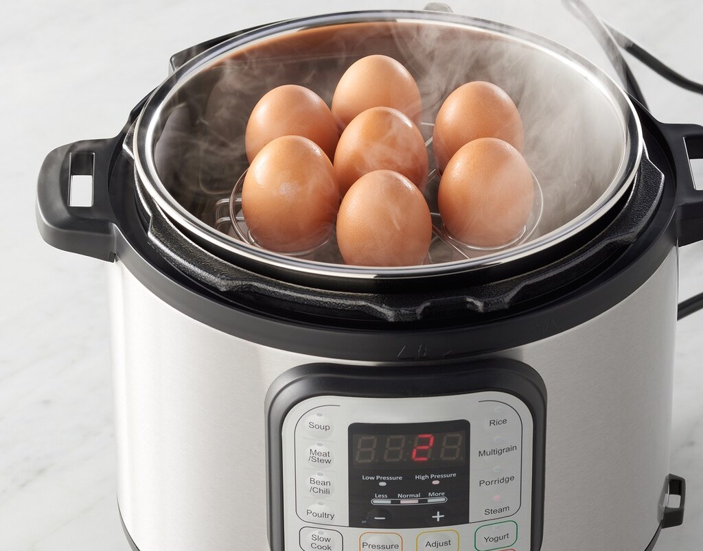 Food Network Egg Steamer Accessory in Instant Pot