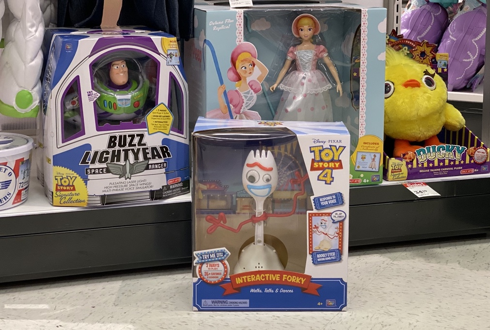 Forky Action Figure by other Pixar toys