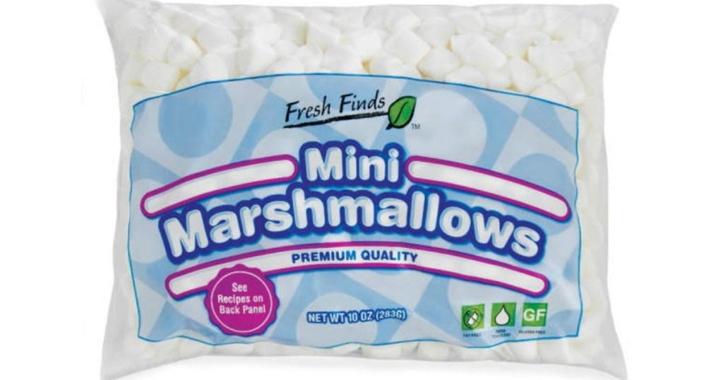 Fresh Finds mini marshmallows bag