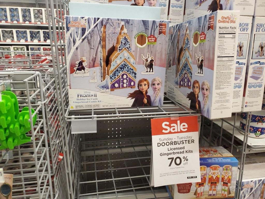 Frozen Gingerbread Kit on shelf