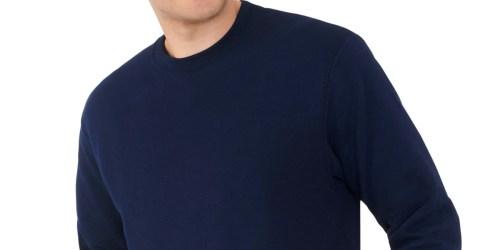 Fruit of the Loom Men's Fleece Sweatshirts from $4 on Walmart.com (Regularly $9)