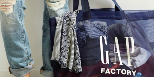 Up to 50% Off GAP Factory Apparel | Items from $4