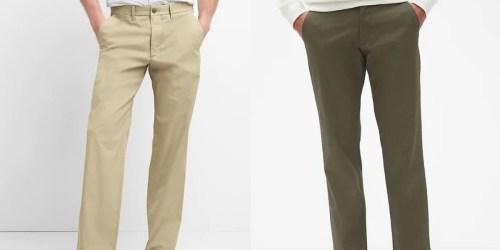 Gap Men's Vintage Khakis from $18 (Regularly $60)