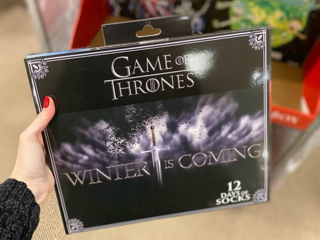 Game of Thrones Socks set in box