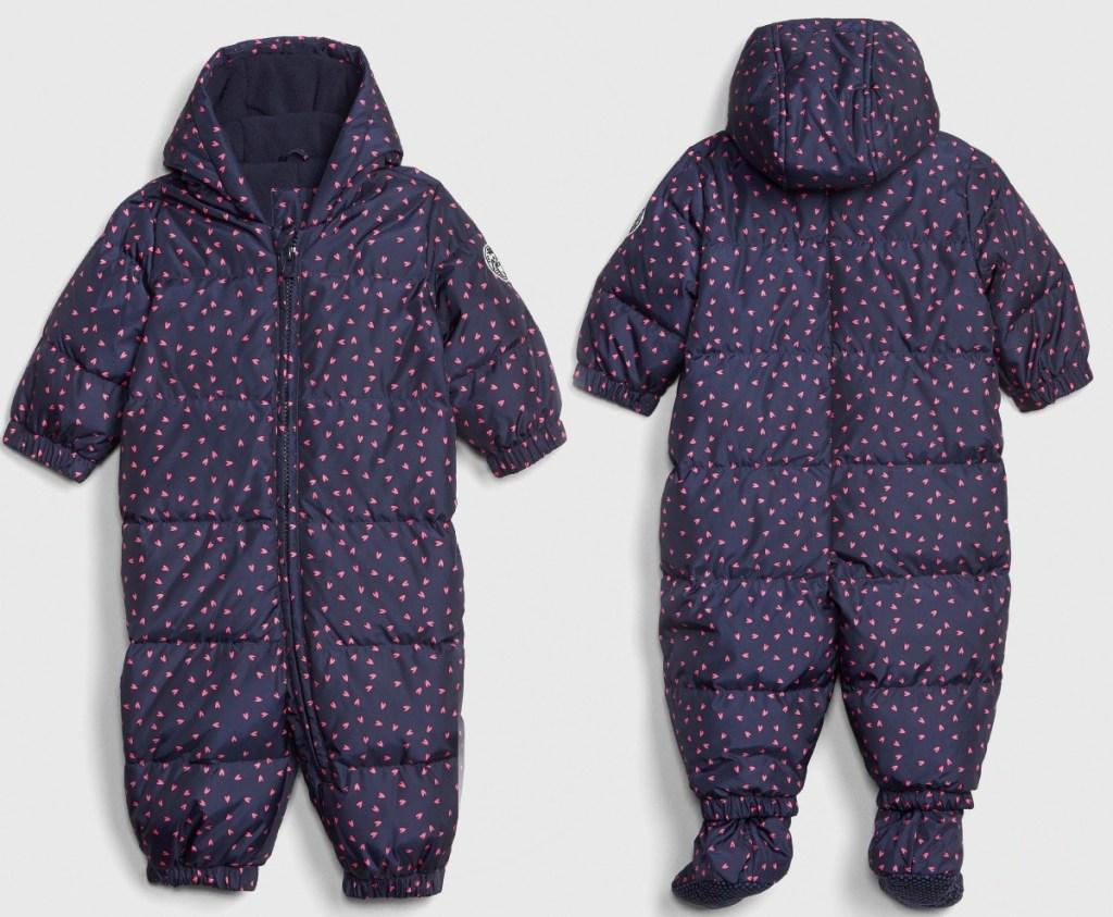Gap brand baby snow suit