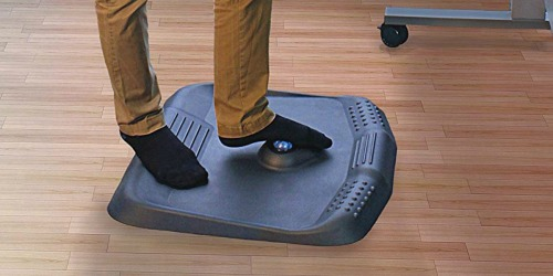 Standing Desk Anti Fatigue Mat Only $53.97 Shipped on Amazon   Features Massaging Roller Ball