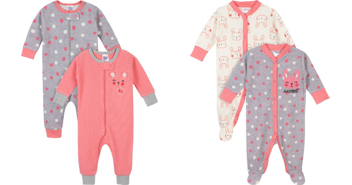 Gerber Baby Girl Pajamas