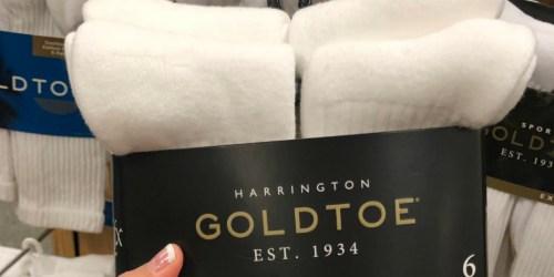 Goldtoe Men's Crew Socks 7-Pack from $6.60 + Free Shipping for Kohl's Cardholders