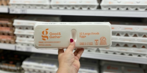 25% Off Good & Gather Eggs at Target (Just Use Your Phone)
