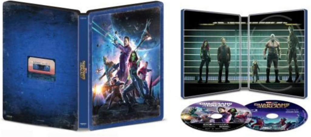 Guardians of the Galaxy steelbook
