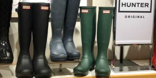 Hunter Original Rain Boots as Low as $52.50 Shipped at Zappos (Regularly $150)