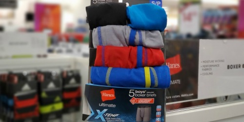 60% Off Hanes Girls & Boys Underwear, Tees & Socks at Kohl's