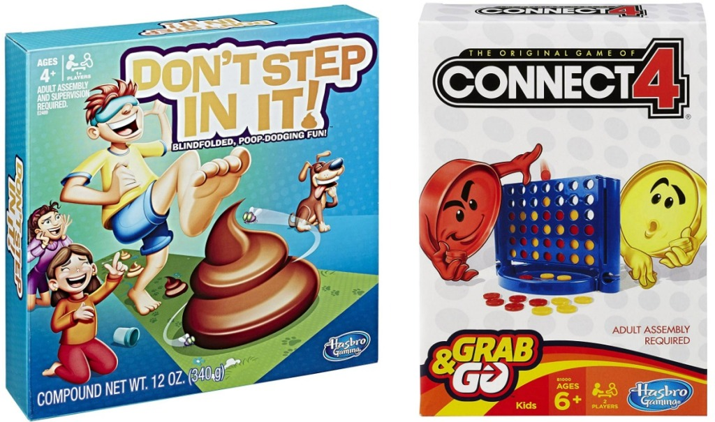 Two Hasbro Board Games