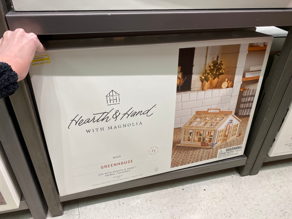 Hearth & Hand with Magnolia Greenhouse on shelf at Target