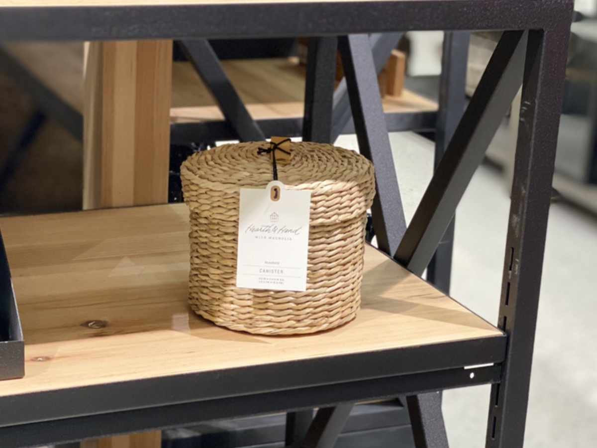 Woven Bath Storage Canister - Hearth & Hand with Magnolia