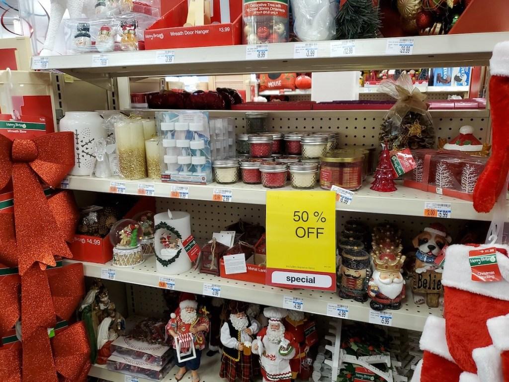 Holiday Candles at CVS