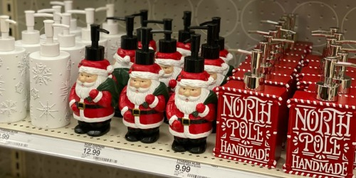 Holiday Bath Decor as low as $4 at Target.com + More