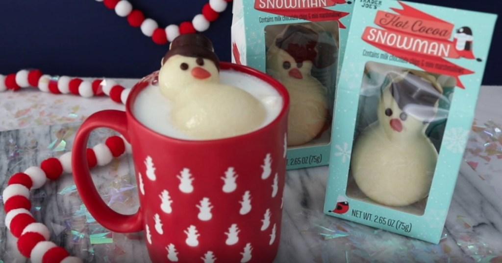 Hot Cocoa Snowman from Trader Joe's