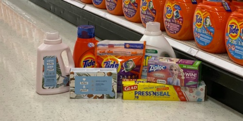 Free $15 Target Gift Card w/ $50+ Household Essentials Purchase