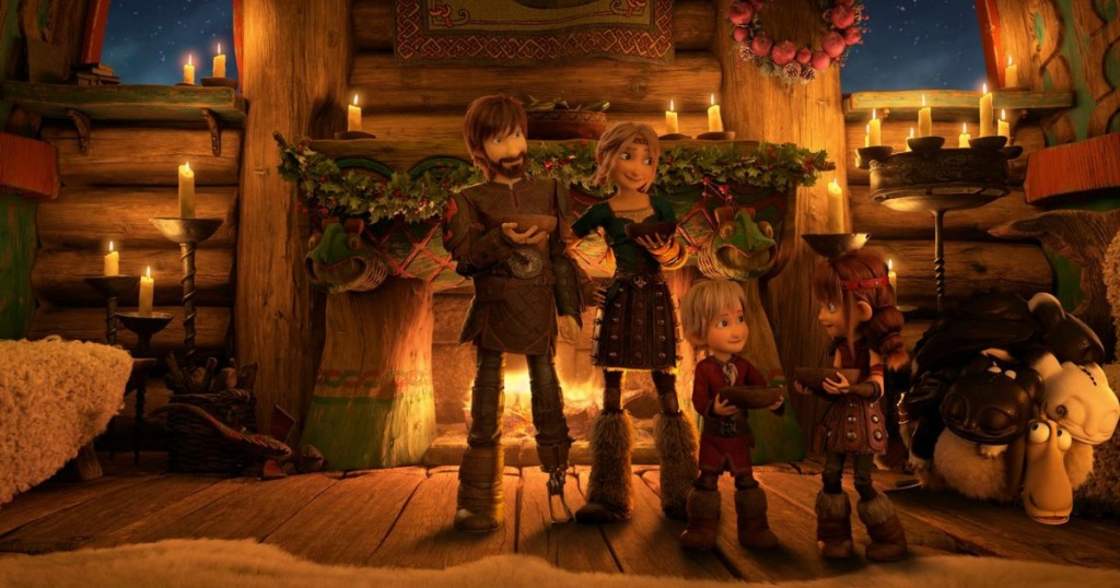 How to Train Your Dragon Hulu Special