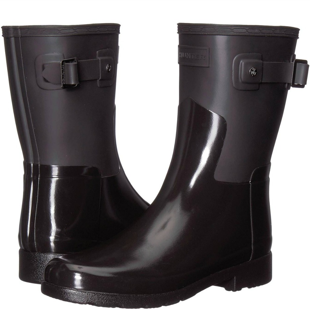 Hunter Women's Boots in black style
