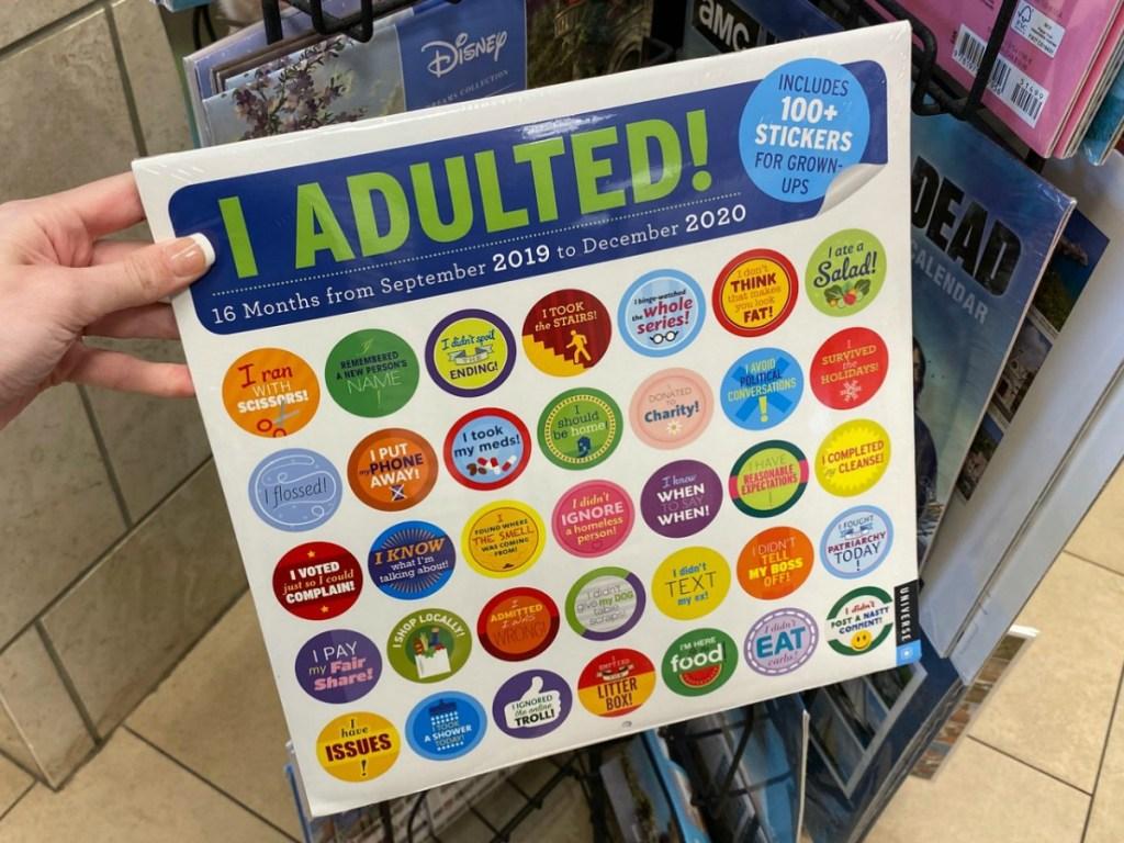 I Adulted Calendar Barnes & Noble