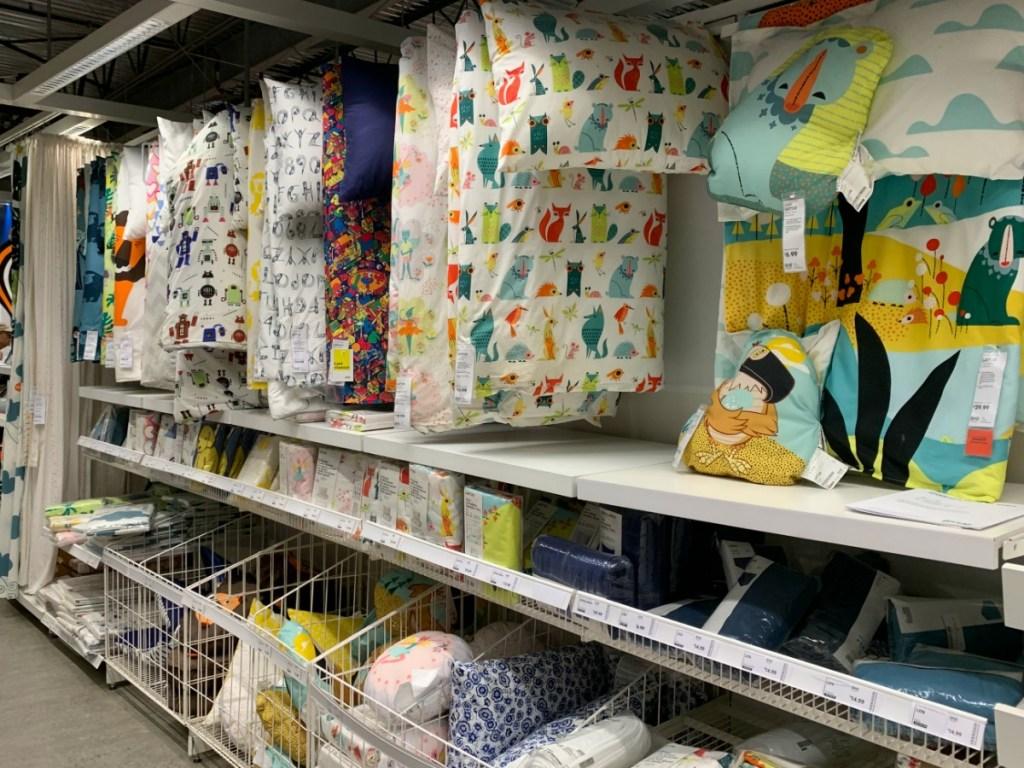 IKEA Kids Bedding in store