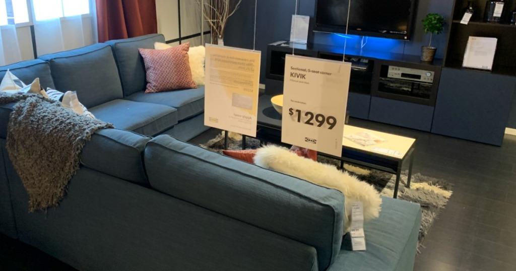 IKEA Living Room with couch