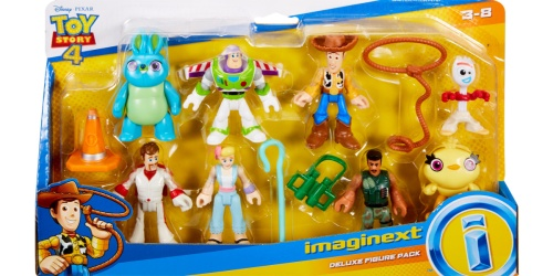 Imaginext Disney Toy Story 4 Deluxe Figure Pack Only $14.97 at Walmart.com
